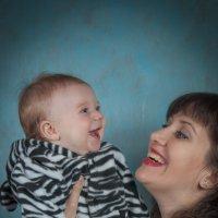 С любимой мамой :: Anna D
