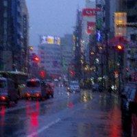 Токио.Дождь. :: Михаил Рогожин