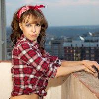 Лиза на балконе :: Daria Egorova
