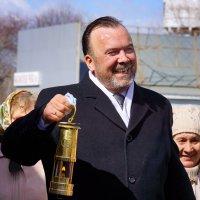 Благодатный огонь с Иерусалима. :: Алексей Golovchenko