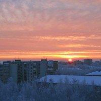 Закат на Вятке... :: Борис Иконников