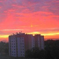 Осенний рассвет :: Татьяна Шестакович