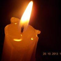 свеча :: Айна Кабирова