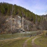 Дорога к реке :: Любовь Потеряхина