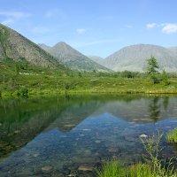 Горное озеро :: Александр Чазов
