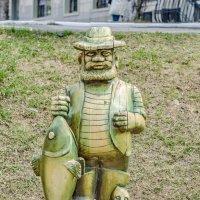 Скульптура Рыбак :: Александр Морозов