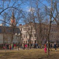 Весна на Чистопрудном :: Надежда Лаптева