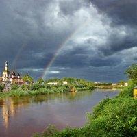 Радуга над Вологдой :: Валерий Талашов