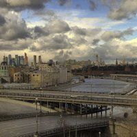 Вид из квартиры Галины Улановой :: Александр Лебедев