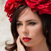 в красном :: Виктория Гринченко