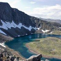 Ледниковое озеро :: Александр Чазов