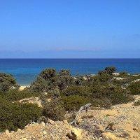 Вид с острова Гавдос на остров Крит. :: Алексей Пышненко