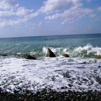 Чемитоквадже. Море. :: Маргарита Сазонкина