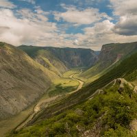 Перевал КатуЯрык, Горный Алтай :: Дмитрий Кучеров
