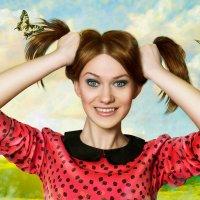 веселая девчонка :: Veronika G