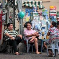 Быт вьетнамских мужчин :: Наташа Попова