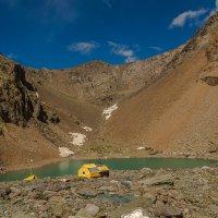 Голубое озеро у ледника Большой Актру, Горный Алтай :: Дмитрий Кучеров
