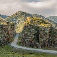 Чуйский тракт между Яломаном и Инёй, Горный Алтай :: Дмитрий Кучеров