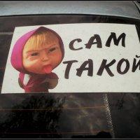 На машине... :: Ольга Кривых