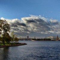 Нева и небо :: Владимир Гилясев