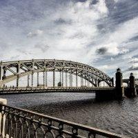 Большеохтинский мост :: Оксана Гунина
