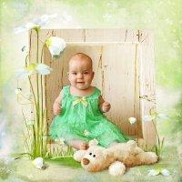 Весенняя страничка для малыша :: Ирина Kачевская