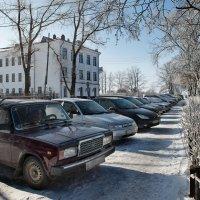 Дружное наступление на тротуары... :: Алёна Михеева
