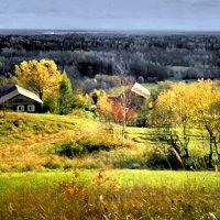 Осень на Цыпиной горе :: Валерий Талашов
