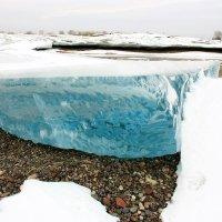Лед  толщина 1 метр :: Виктор