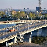 мост через р.Томь :: Евгений Фролов