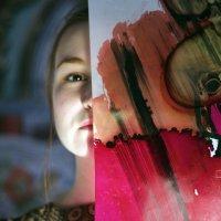 холст и девушка :: Анастасия Ковальчик