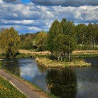 Пруд у Мирожского монастыря :: Виктор Грузнов