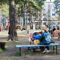 Детская площадка МЖК. :: Олег Афанасьевич Сергеев
