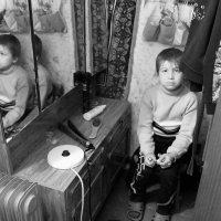 Мальчик из барака :: Наташа Попова