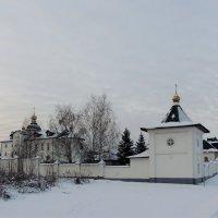 Комплекс построек Богоявленской церкви в Бородино :: Александр Качалин