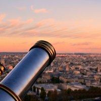 Закат над Парижем :: Елена Суксина