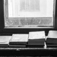 В Санкт-Петербурге не выкидывают на помойку книги,а оставляют на подоконниках. :: виталий рабенков