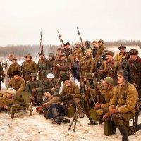Реконструкция освобождение Калуги (групповое фото участников) :: Алексей Кошелев