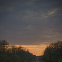 Дорога на закат :: D. Matyushin.