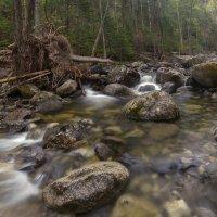 Таежный ключ.Вода и камни. :: Эдуард Ефремов