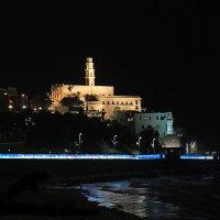 Ночной Яфо - Тель-Авив :: Владимир Сарычев