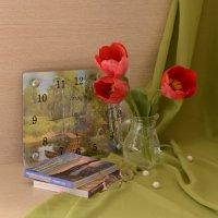 Вдохновение красных тюльпанов :: Ольга Нарышкина