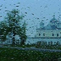 Свято-Георгиевский монастырь. Дождь :: Александр Артюхов