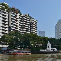 На берегах Чао Прайя, Бангкок. :: Рай Гайсин