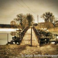 Андрушевка. Старый мост на Красную горку. Апрель 2013 :: Сергей Ионников
