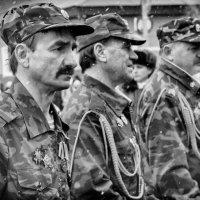 От солдата требуется прежде всего выносливость и терпение; храбрость – дело второе. :: Анастасия Конаныхина