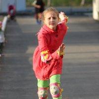 Катание на роликовых коньках - Классный вид спорта! :: Julia