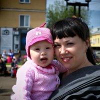 Наташа и Лизонька... :: Сибирь Эвенкия Евгений Щербаков