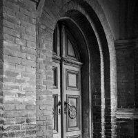 Дверь Органного зала, чем вам не Хогвартс? :: Анастасия Матвиец
