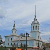 У церкви стояла карета...... ;-) :: Елена Швецова